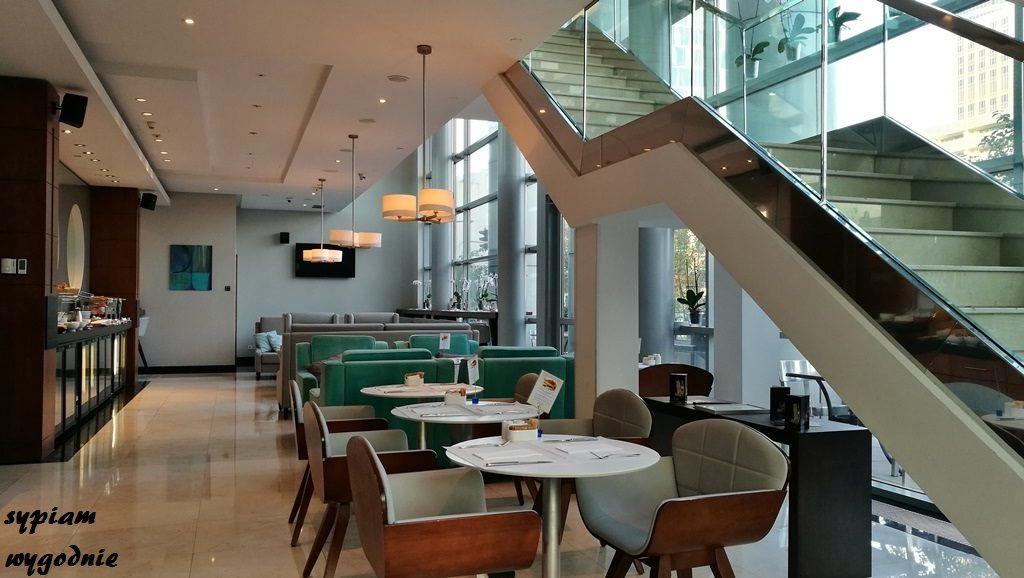 Hilton Warsaw - executive lounge