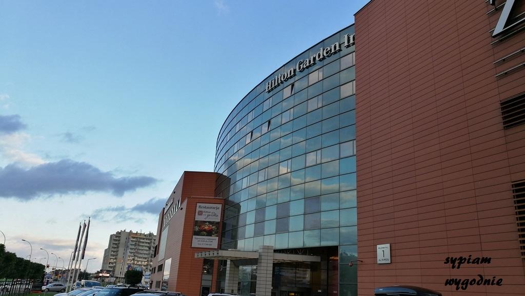 Hilton Garden Inn Rzeszów - budynek