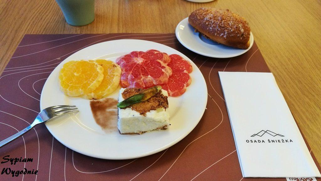 Osada Śnieżka - śniadanie