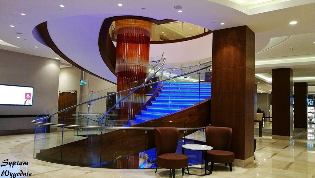 DoubleTree by Hilton Warsaw - schody