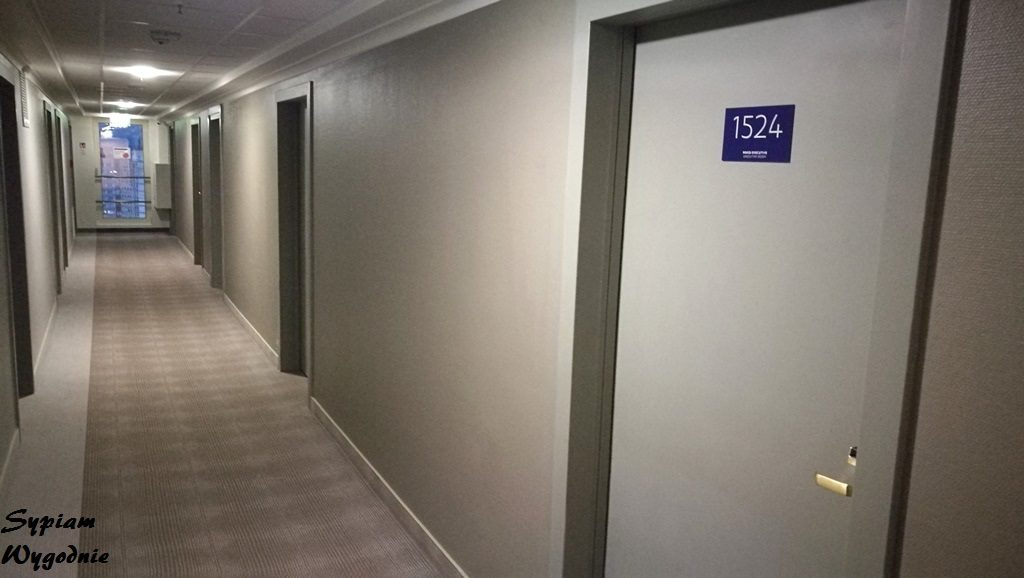 Novotel Poznań Centrum - korytarz