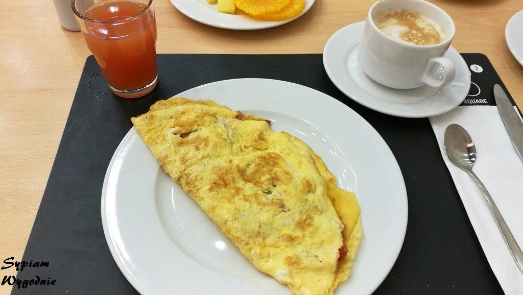 Novotel Poznań Centrum - omlet