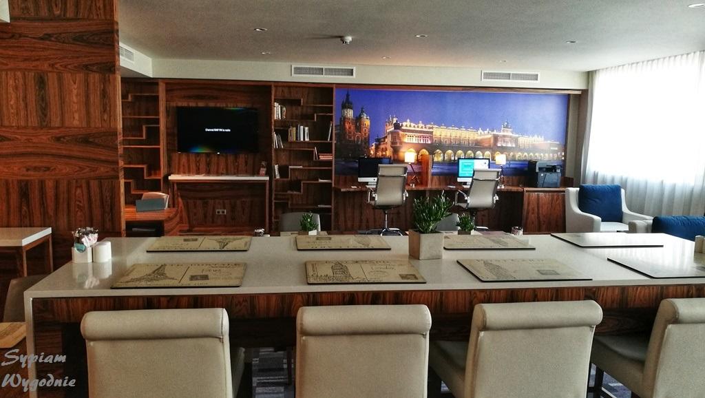 DoubleTree by Hilton Kraków - executive lounge