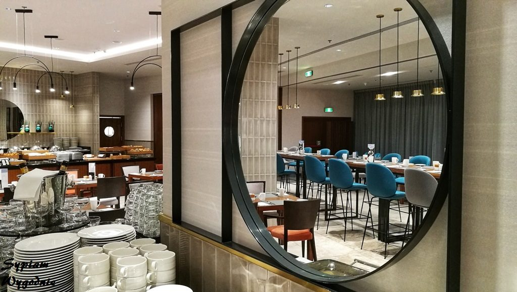 Hilton Gdańsk - Mercato - sala restauracyjna