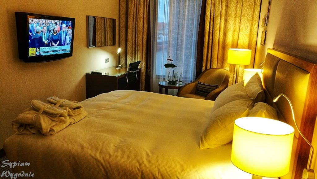 Hilton Gdańsk - sypialnia