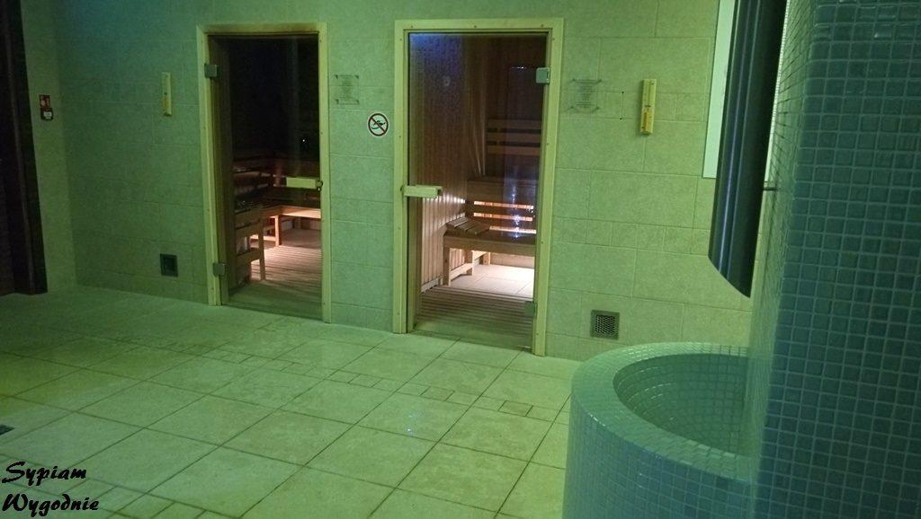 DoubleTree by Hilton Kraków - sauny