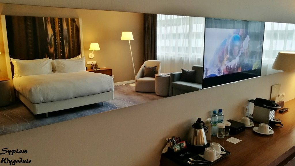 DoubleTree by Hilton Wrocław - King Junior Suite