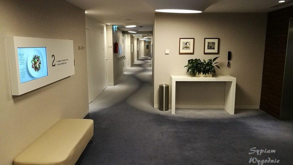 DoubleTree by Hilton Wrocław - korytarz