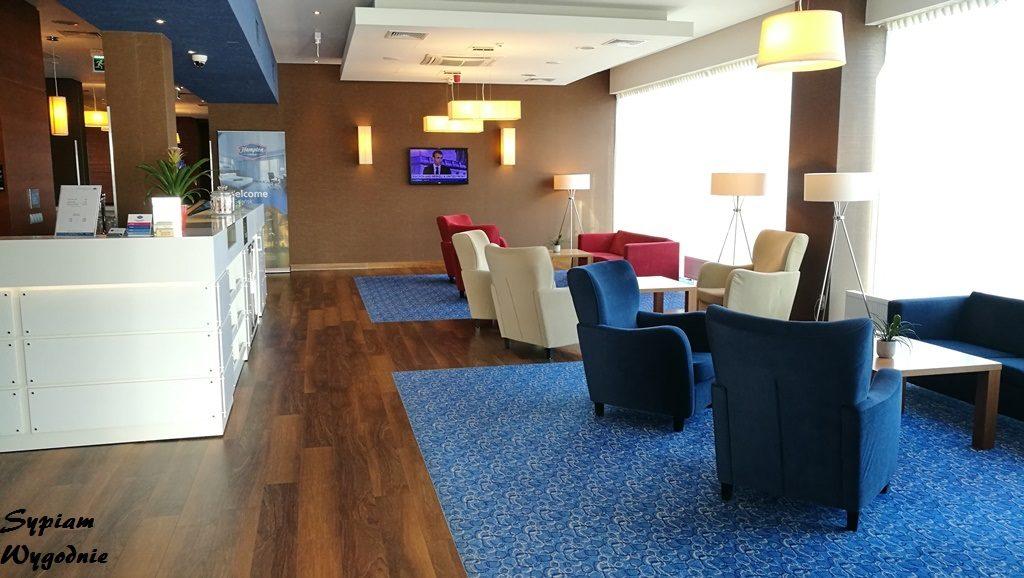 Hampton by Hilton Gdańsk Airport - lobby