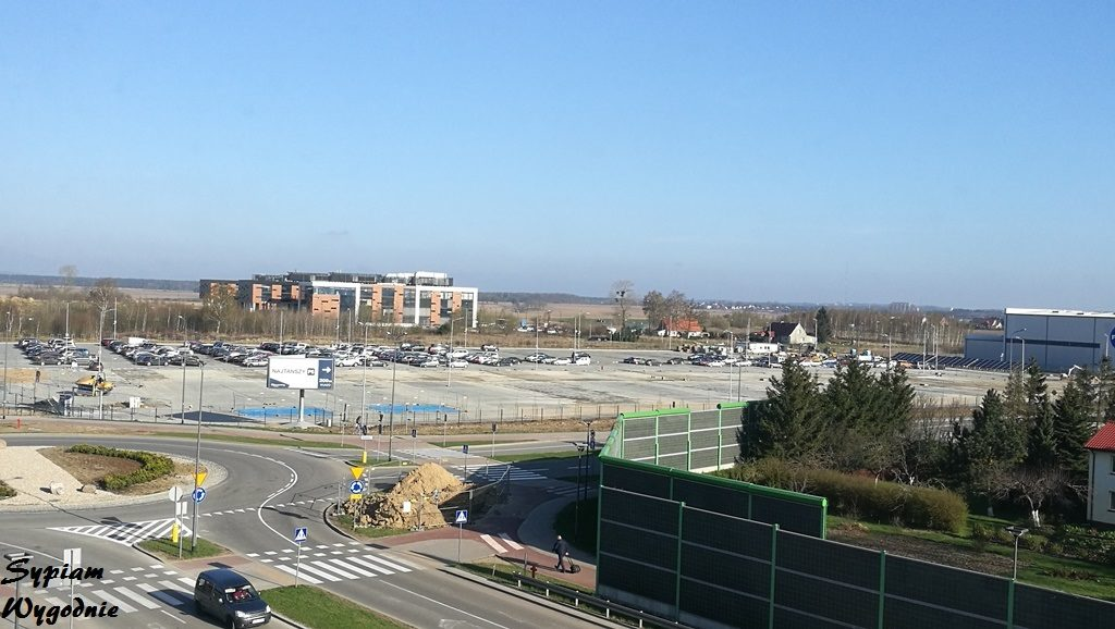 Hampton by Hilton Gdańsk Airport - widok z okna
