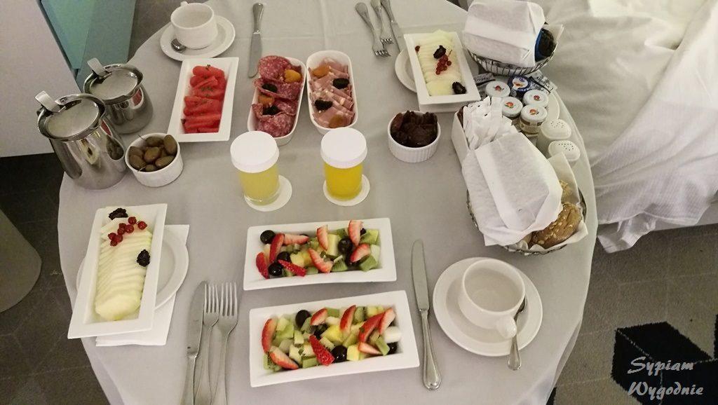 Hilton Malta - śniadanie