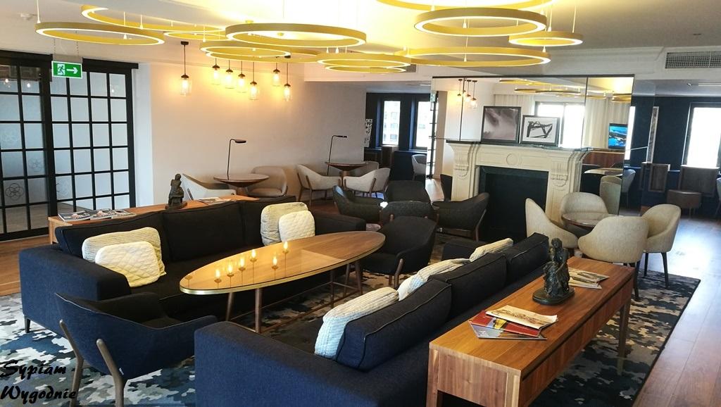 Hilton Malta - executive lounge