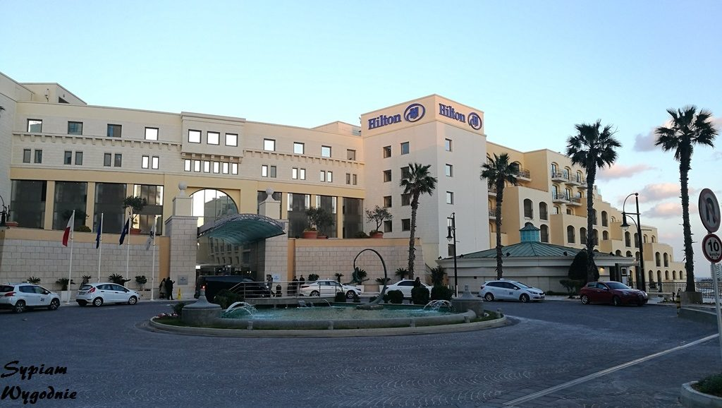 Hilton Malta - budynek