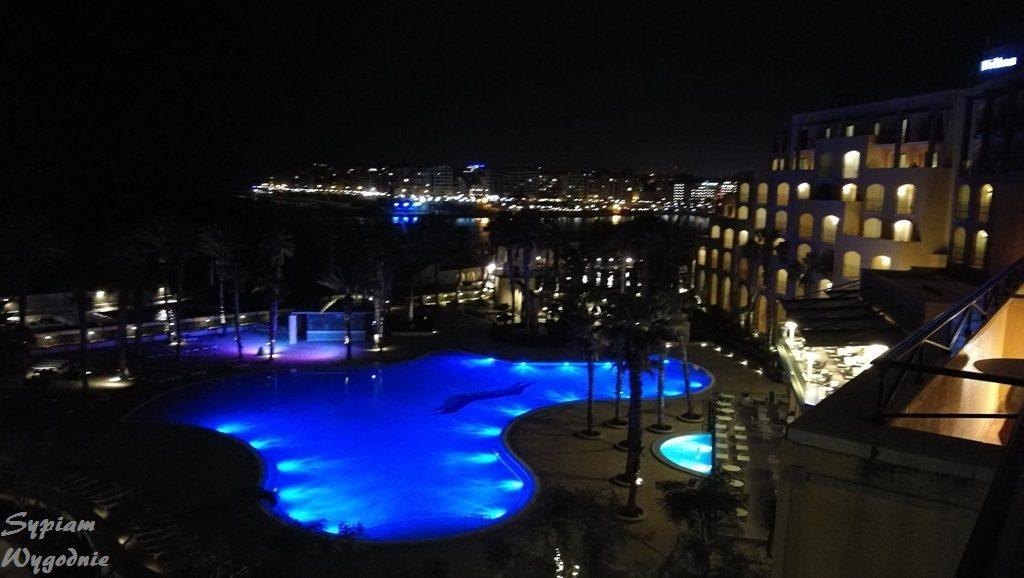 Hilton Malta - widok