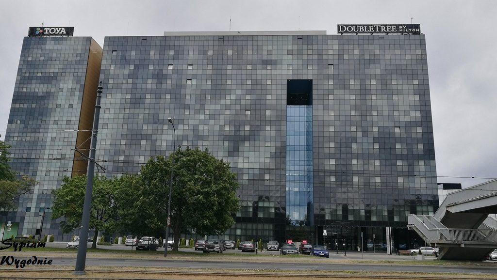 DoubleTree by Hilton Łódź - budynek