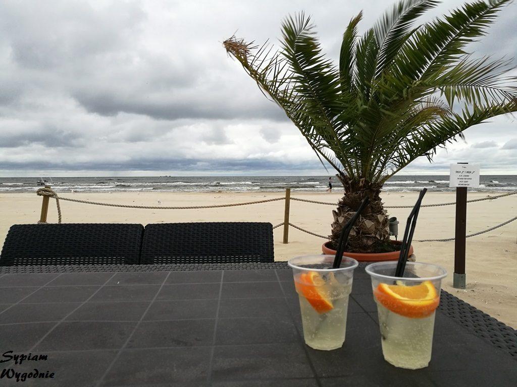 Świnoujście - wyspa Uznam - beach bar