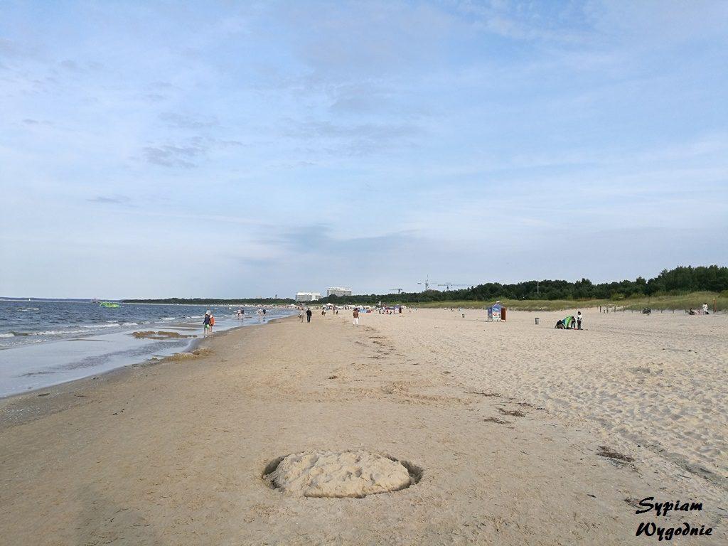 Świnoujście - wyspa Uznam - plaża