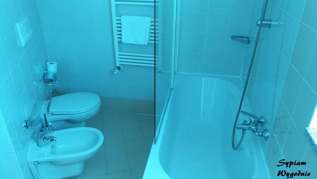 Hilton Garden Inn Milan Malpensa - łazienka