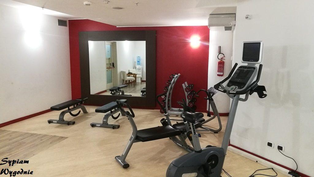 Hilton Garden Inn Milan Malpensa - siłownia