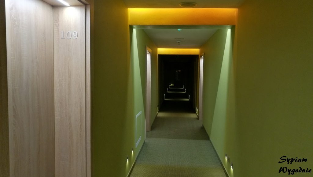 Hotel Jakuszyce - korytarz