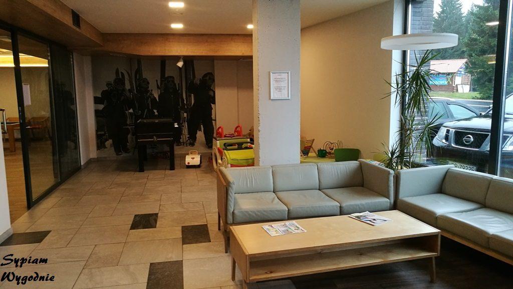 Hotel Jakuszyce - lobby