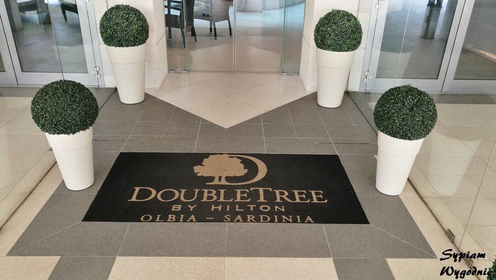 DoubleTree by Hilton Olbia - wejście