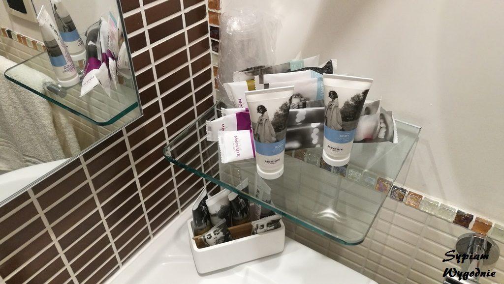 Mercure Olbia - łazienka