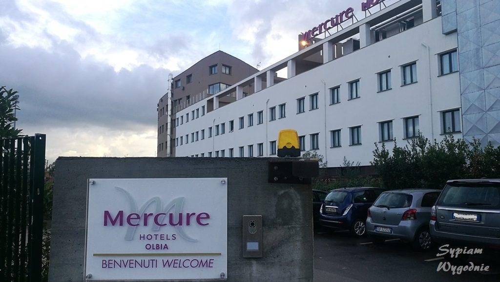 Mercure Olbia - budynek