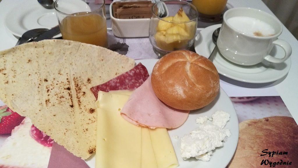 Mercure Olbia - śniadanie