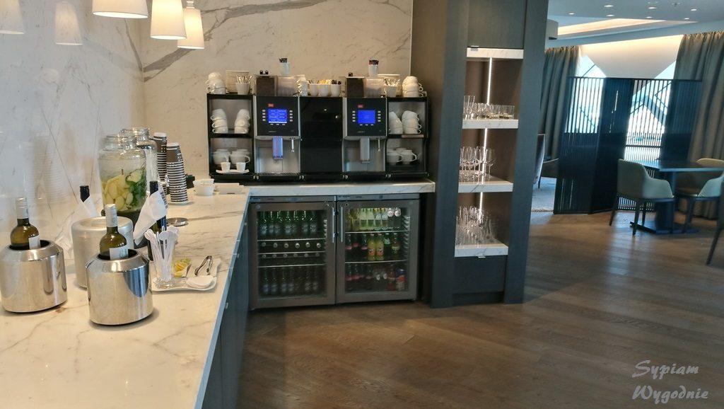 Hilton Amsterdam Airport Schiphol - executive lounge - w ciągu dnia