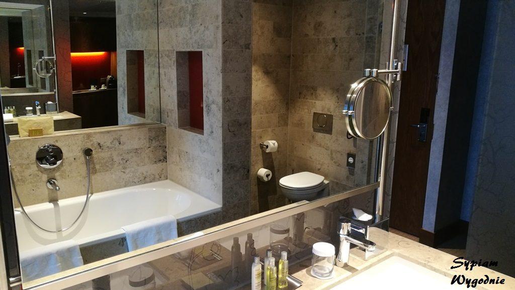 Hilton The Hague - łazienka