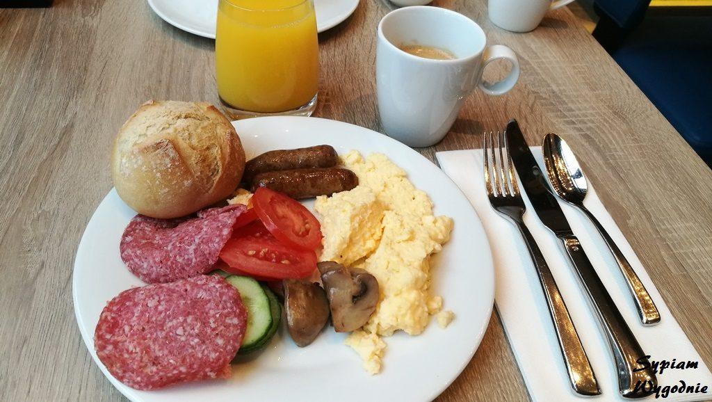 Hilton The Hague - śniadanie
