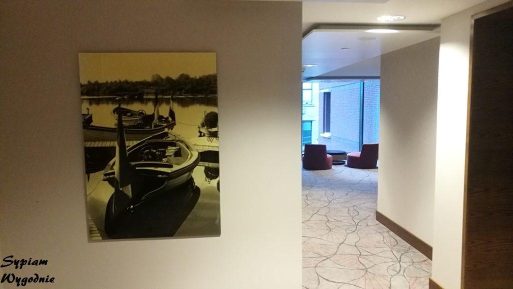 Hilton The Hague - korytarz