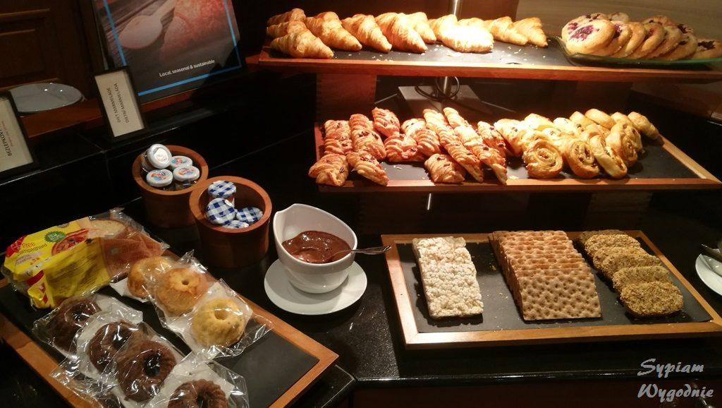 Executive louge w Hilton Prague - śniadanie