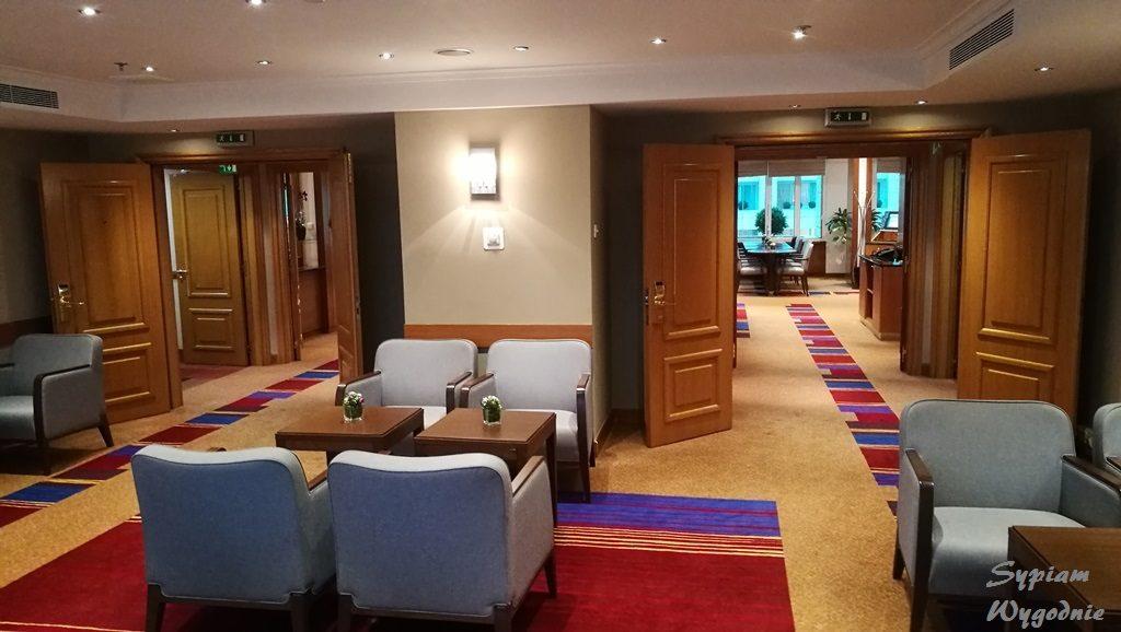 Executive louge w Hilton Prague