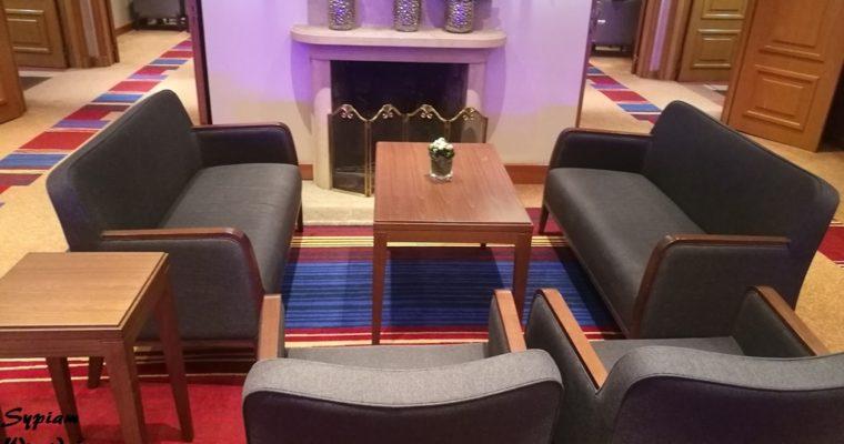 Hilton Praga – executive lounge