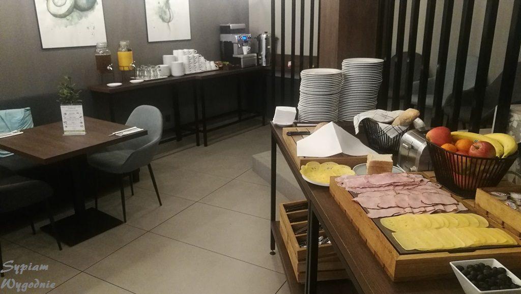 Hotel Lavender Kraków - śniadanie