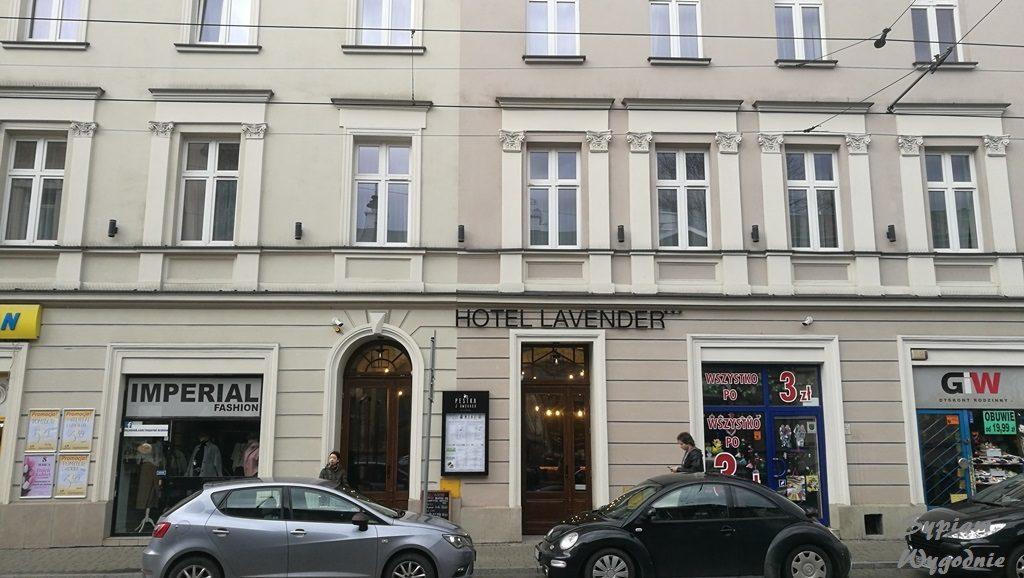 Hotel Lavender Kraków - budynek