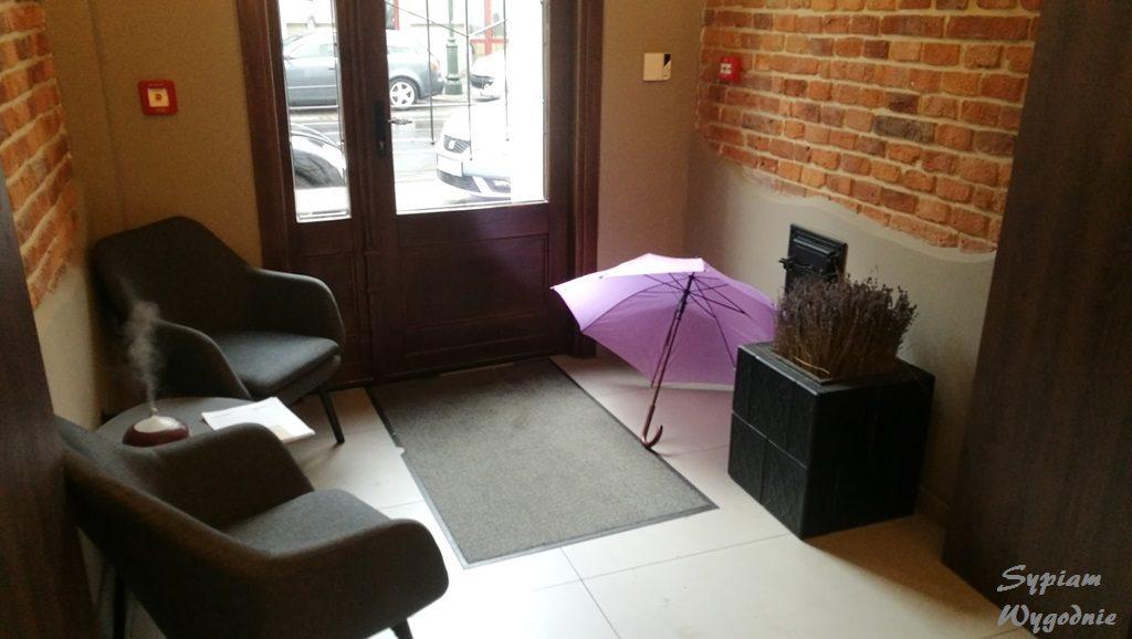 Hotel Lavender Kraków - recepcja