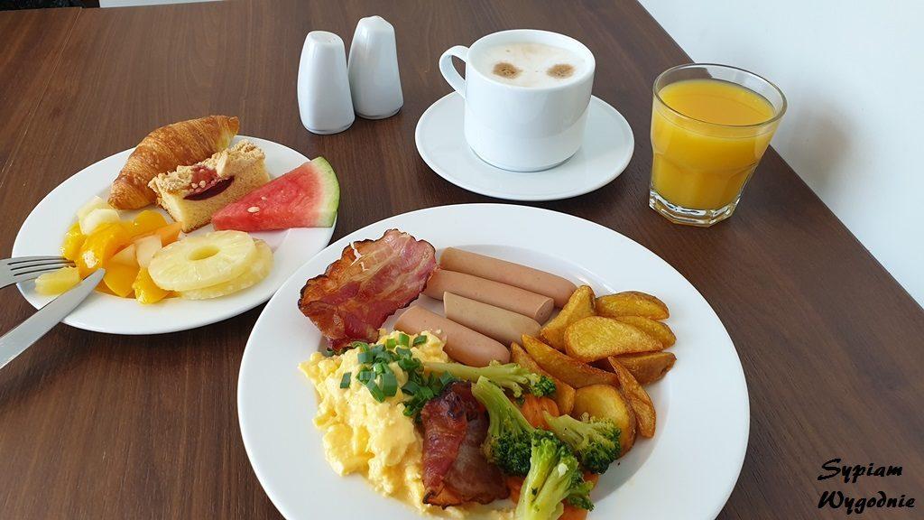 Śniadanie w Hampton by Hilton Gdańsk Oliwa