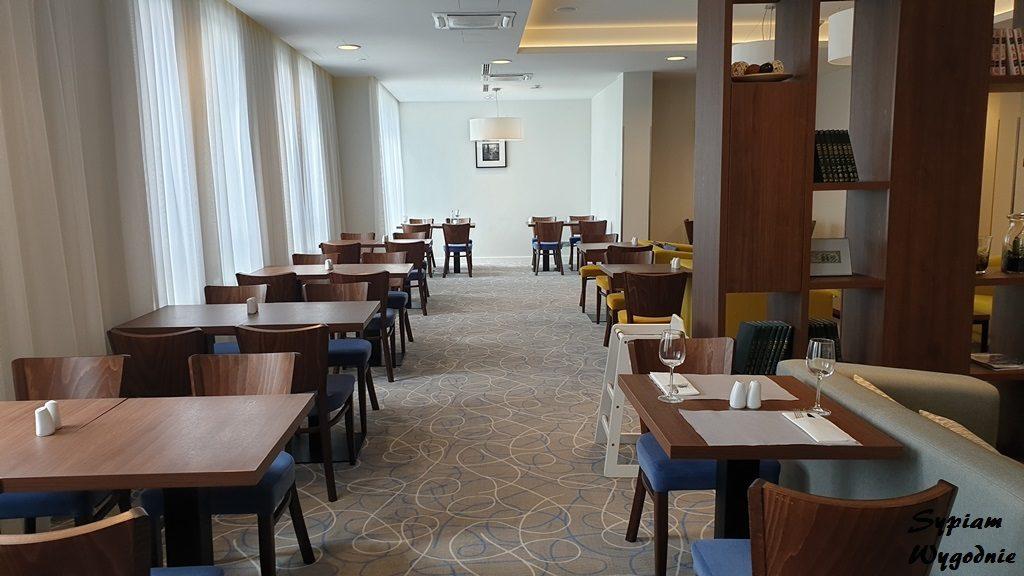 Sala śniadaniowa w Hampton by Hilton Gdańsk Oliwa