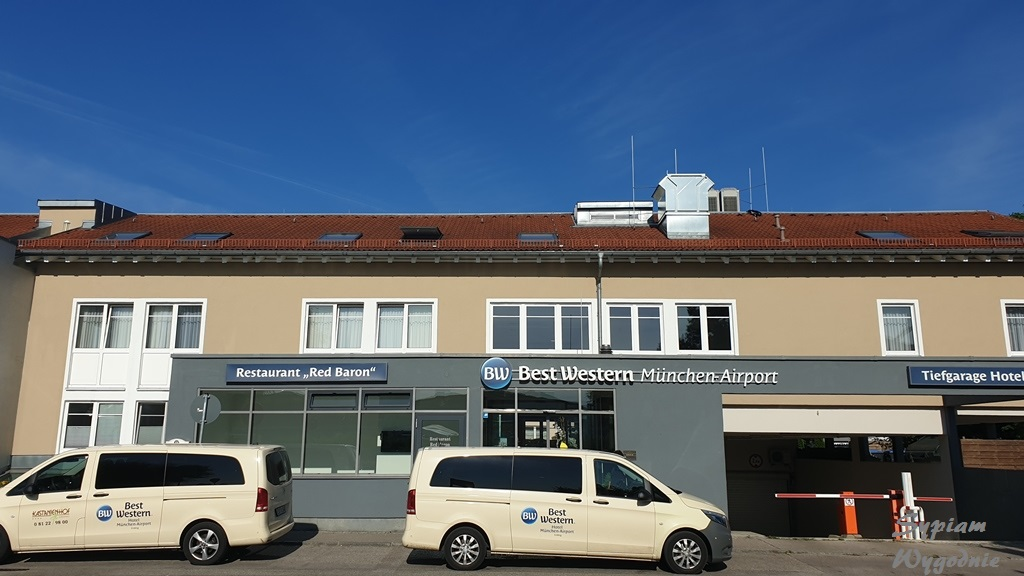 Best Western München Airport – niespodziewany nocleg