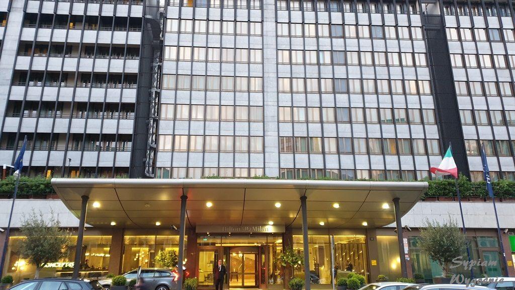 Hilton Milan - budynek