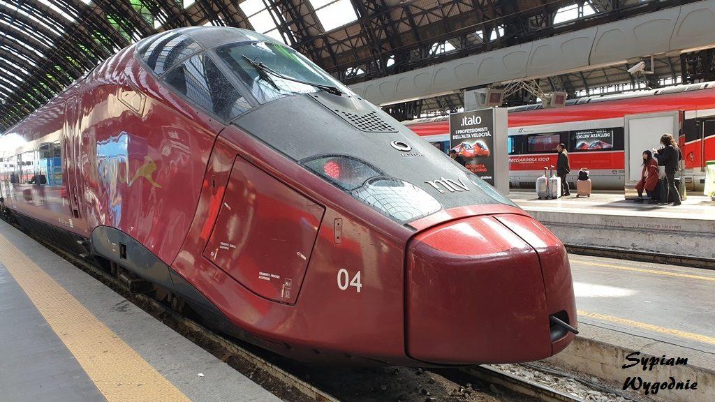 włoskie koleje dużych prędkości