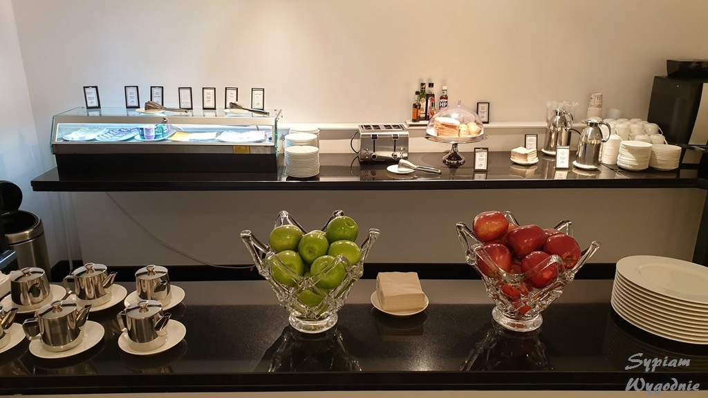 Hilton Madrid Airport – opinia executive lounge