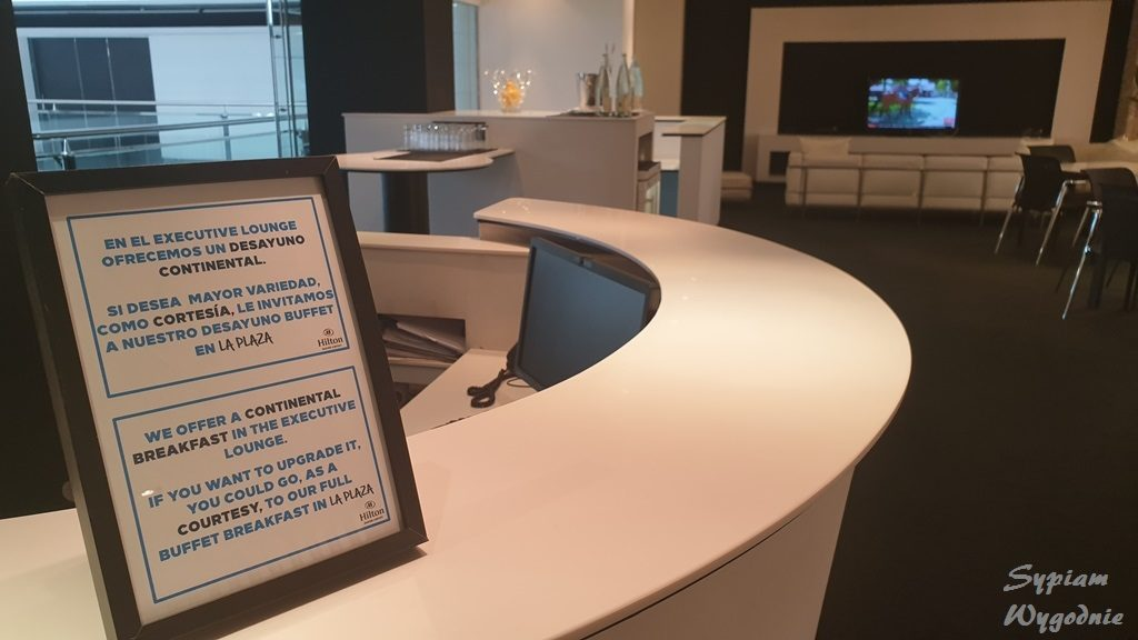 Hilton Madrid Airport - executive lounge