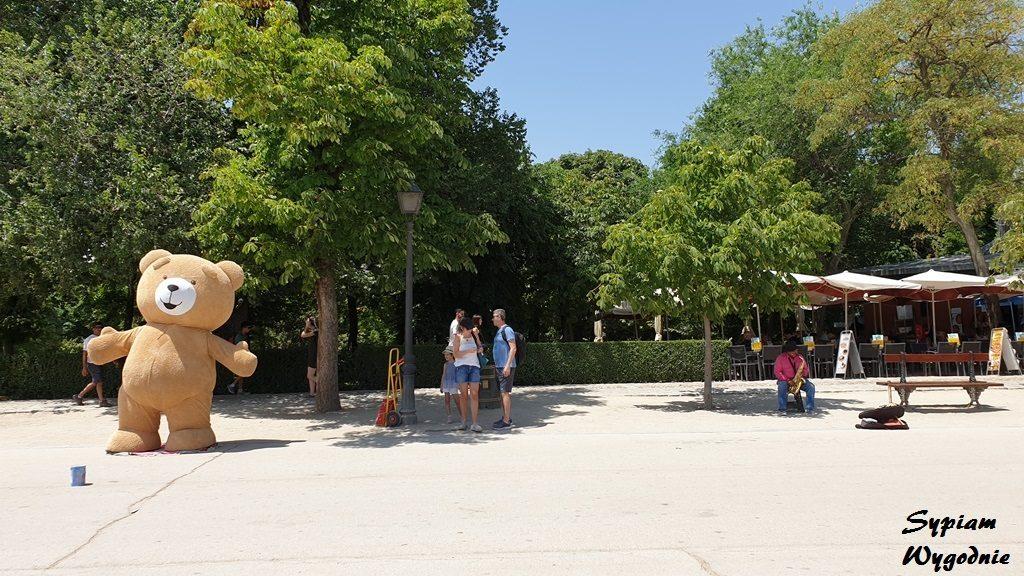 Madryt - zwiedzanie - Parque de El Retiro
