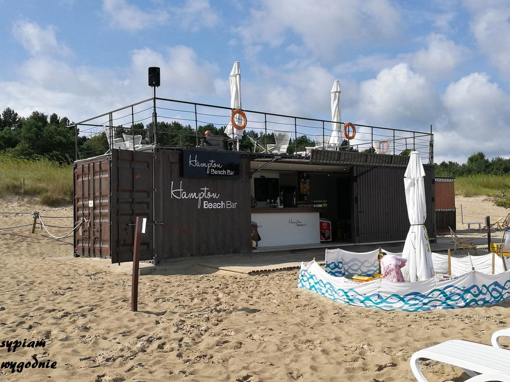 Świnoujście - Hampton beach bar