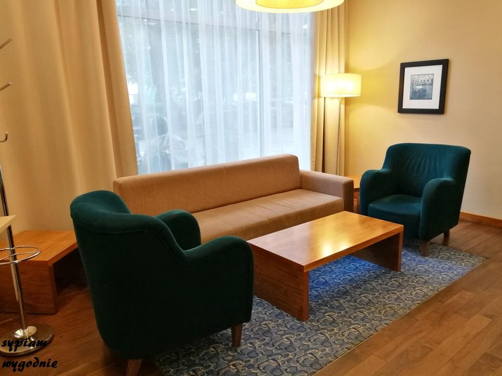 Hampton by Hilton Świnoujście - lobby hotelowe