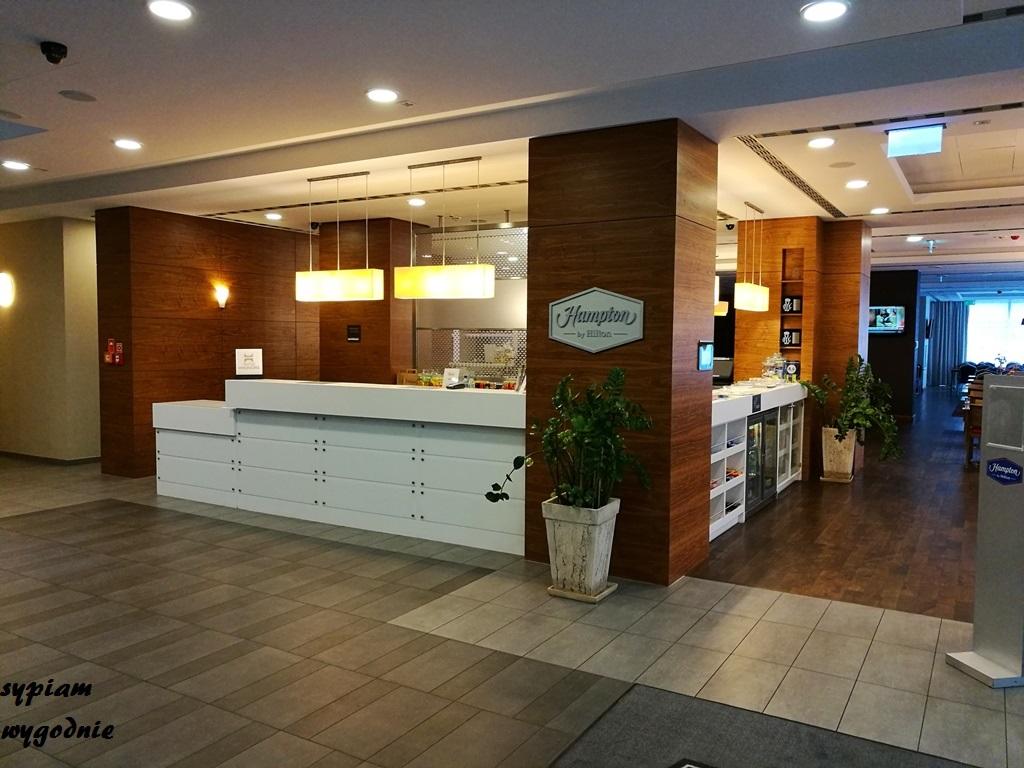 recepcja w Hampton by Hilton Świnoujście
